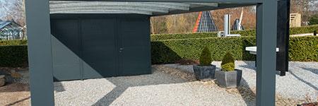 houten carport maken Eindhoven