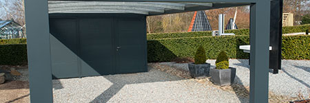 houten carport Breda
