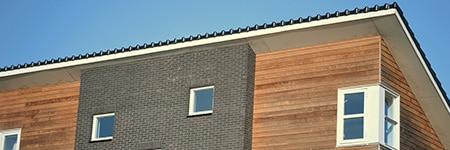 houten gevelbekleding plaatsen Leiden