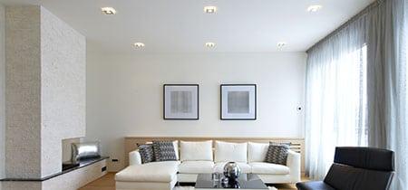 verlaagd plafond